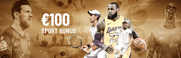%100 Welcome Sports Bonus