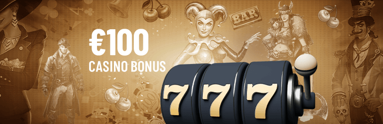 %100 Welcome Casino Bonus + 10 Free Spin