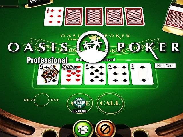 Oasis Poker Pro - High Limit
